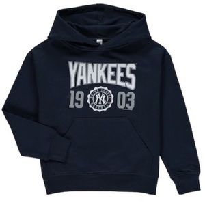 Other - Yankees Youth Hooded Sweatshirt NEW